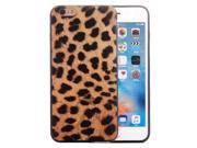 For iPhone 6 & 6s Big Leopard Pattern TPU Frame+PC Back Cover Protective Case 9SIA6RP6A38389