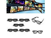 5 Pcs Passive Polarized 3D Glasses For Panasonic LG Sony Samsung 3D TVs Monitor 3D Film Movie 9SIA6RP6KX8996
