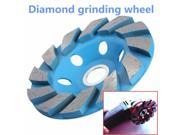 4 Inch 6 Hole Diamond Segment Grinding Cup Wheel Disc Grinder Granite Stone 9SIA6RP6KX7695