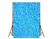 4X5FT Blue Swimming Pool Baby Photography Background Vinyl Photo Backdrop Prop