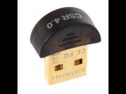 BATTOP Bluetooth CSR 4.0 Dongle (CSR 8510 Chipset)- Bluetooth Adapter For Window 98 / XP / Vista / Win 7 - Black