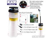 Two Way 6.5L Pneumatic / Air / Hand / Manual Oil & Fluid Bleeder Extractor