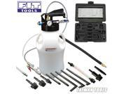 FIT TOOLS Two Way 10L Pneumatic ATF Oil and Liquid Extractor with ATF Adapters