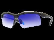 Callaway Hyperlite Men's Sports Sunglasses with Neox NX14 Lens - Shiny Black