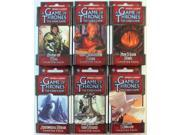 Game of Thrones - Conquest and Defiance Chapter Packs Collection MINT/New