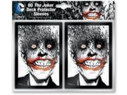 Card Sleeves - The Joker (10 Packs of 80) MINT/New