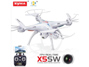 Syma X5SW 2.4Ghz 4CH 6-Axis Gyro RC Headless Quadcopter Drone FPV Explorers with 2MP HD Wifi Camera 9SIA6SY3X84902