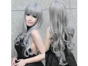 ZNUONLINE Fashion Long Full Head Curly Wavy Hair Wig Multic-colors 80cm Heat Wigs Resistant for Women Ladies Girls Cosplay Party Costume Carnival Halloween Apri 9SIA6TF2987530
