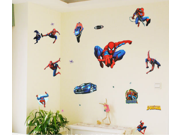 Cool Spiderman Wall Paper Sticker Home Decorating Decal Art Kids Nursery Room Sitting Room Bathroom Decor Decorations Window Removable Wall Stickers Mural Stick 9SIA6TF2A73618