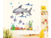 Cartoon Fish Wall Paper Sticker Home Decorating Decal Art Kids Nursery Room Sitting Room Bathroom Decor Decorations Window Removable Wall Stickers Mural Sticker 9SIA6TF2A73613