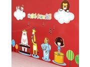 ZNUONLINE Animals Banks Hello Friend Quote Removable Wall Art Stickers Decals Home Room Bedroom Kids Room Nuresery Wall Decor 9SIA6TF2EN1460