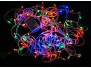 20M 200Lights,Waterproof Solar LED Lights Christmas Fairy String Lights for Outdoor/Gardens/Homes/Wedding/Christmas Party,Multi Color