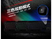 USB Wired 3 LED Backlight Illuminated Gaming Keyboard for PC Laptop Blue Red