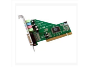 PCI 3D stereo adapter PC desktop Windows 7 cmedia 8738 green version of the 4 channel sound card