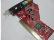 Desktop computer sound card 4 channel 1938 chip PCI sound card