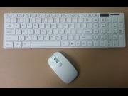 Ultrathin 2.4GIPHONE mini wireless mouse + keyboard
