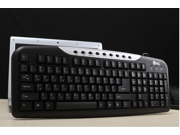 Jeway JK-8606 USB Wired Gaming Laptop Keyboard Black