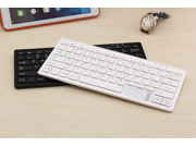 Ultrathin Wireless Bluetooth Keyboard + Mouse Touchpad with  Battery for Bluetooth Enabled Devices - Android 3.0 / Mac OS / Windows / Google Nexus 7  /  iPhone  / iPad  / iPad Mini