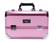 MSQ Professional Aluminum Portable Cosmetic Makeup Artist Carrying Case Lockable(pink) 9SIAAZM45N9437