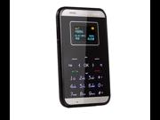 AiEK M7 Mini Pocket Ultra Slim OLED Card Mobile Phone GSM M3 MP3 Bluetooth Card Size 9SIV0EU4SM5906