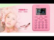 AiEK V8, 6.5mm Ultra Thin Fashionable Mini Mobile business Card Phone, Micro SIM Student Version Credit Card Size Mobile Phone with Fm Radio Bluetooth Etc. 9SIV0EU4SM4177
