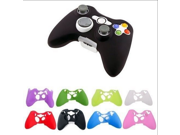 Multi-Color XBOx 360 handle silicone protective sleeve Silicone Rubber Controller Skin Protective Cover For Microsoft Xbox 360