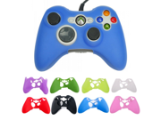 Multi-Color XBOx 360 handle silicone protective sleeve Silicone Rubber Controller Skin Protective Cover For Microsoft Xbox 360 9SIAAZM45N9567