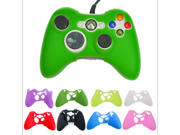 Multi-Color XBOx 360 handle silicone protective sleeve Silicone Rubber Controller Skin Protective Cover For Microsoft Xbox 360 9SIAAZM45P0093