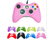 Multi-Color XBOx 360 handle silicone protective sleeve Silicone Rubber Controller Skin Protective Cover For Microsoft Xbox 360 9SIAAZM45N8614