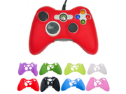 Multi-Color XBOx 360 handle silicone protective sleeve Silicone Rubber Controller Skin Protective Cover For Microsoft Xbox 360 9SIAAZM45N8046