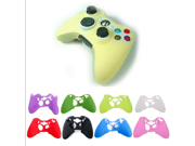 Multi-Color XBOx 360 handle silicone protective sleeve Silicone Rubber Controller Skin Protective Cover For Microsoft Xbox 360 9SIAAZM45N7252