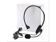 Fashion Black Slim Noise Canceling Microphone Headset Mono Headset with Microphone For Xbox 360