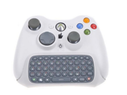 Official OEM For Xbox 360 White Keyboard Chatpad Controller Tetsted Wireless Text Messenger Game Gaming Controller Keyboard  For Xbox 360