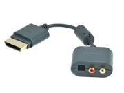 Generic Optical RCA Audio Adapter Cable/Toslink Audio Adapter for Xbox 360 and Xbox 360 Slim
