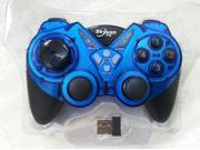 Super 2.4Ghz Wireless Double Shock Gamepad Joystick Controller for Ps3 / Android / Windows PC 360 Games