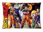 Anime Dragon Ball Z Style Pillowcase Custom 20x30 Inch Zippered Pillow Case 9SIA6U555S1893