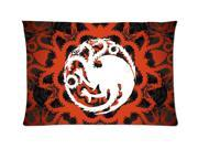 Game of thrones 01 Style Pillowcase Custom 20x30 Inch Zippered Pillow Case
