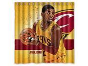 Cleveland Cavaliers Kyrie Irving NBA Design Polyester Fabric Bath Shower Curtain 180x180 cm Waterproof and Mildewproof Shower Curtains 9SIA6U557M0292