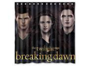 The Twilight Saga Breaking Dawn Design Polyester Fabric Bath Shower Curtain 180x180 cm Waterproof and Mildewproof Shower Curtains