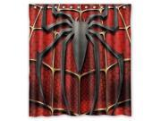 Marvel Superhero Spiderman Design 66x72 Inch Bath Shower Curtains 9SIA6U55XA9504