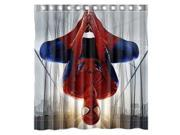 The Amazing Spiderman Design 66x72 Inch Bath Shower Curtains 9SIA6U55XA9340