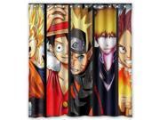 Anime One Piece Luffy Dragon Ball Z Bleach Design 66x72 Inch Bath Shower Curtains 9SIA6U55YP8431