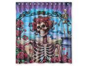 Rock Band Grateful Dead Design 66x72 Inch Bath Shower Curtains