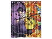 Uzumaki Naruto VS Uchiha Sasuke Cartoon Design 60x72 Inch Bath Shower Curtains 9SIA6U55ZZ8978