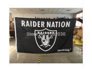 Oakland Raiders Flag 05 NFL Team Flag 150x90 CM
