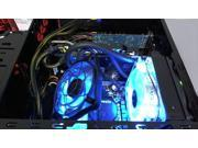 Antec Spot Cool 100 Internal Blue LED Case Fan GOOSENECK MOUNTS