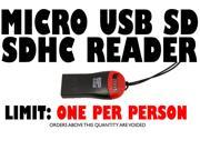 New Whistle USB Micro SD SDHC Card Reader Flash Drivet TF(Limit QTY 1 pc per person)