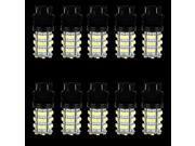 10pcs White LED Backup Daytime Running Reverse Light DRL Bulbs 54-SMD 3157 T20