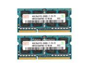 Hynix 8GB 2X 4GB PC3-8500 DDR3-1066MHz 204Pin Laptop Memory RAM so-dimm