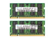 """E-buy World"" New Samsung 4GB 2X2GB PC2-6400 DDR2-800 800Mhz 200pin Sodimm Laptop Memory"